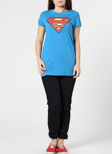 Supergirl Tişört Saks